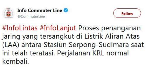 Twit PT KCI