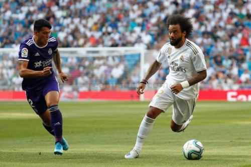 Suasana laga Madrid vs Valladolid