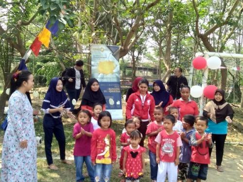 Tujuh perusahaan Keuangan MNC Group rayakan kemerdekaaan HUT RI di TPA Rawa Kucing Tangerang, Minggu (25/8/2019). (Foto : Okezone.com/Isty Maulidya)