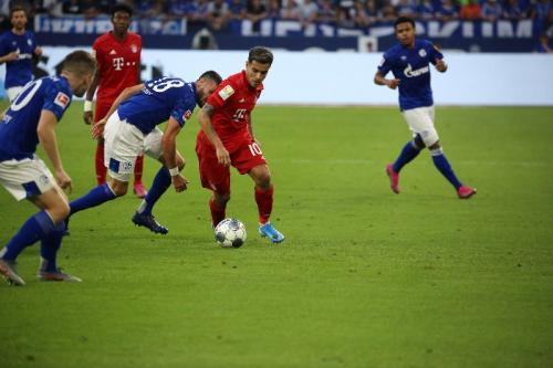 Philippe Coutinho menjalani debut untuk Bayern Munich (Foto: Twitter/Bayern Munich)