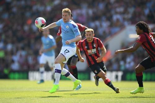 Kevin De Bruyne vs Bournemouth (Foto: Premier League)