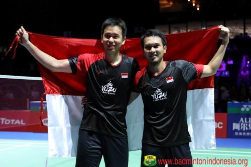 Mohammad Ahsan/Hendra Setiawan (Foto: PBSI)