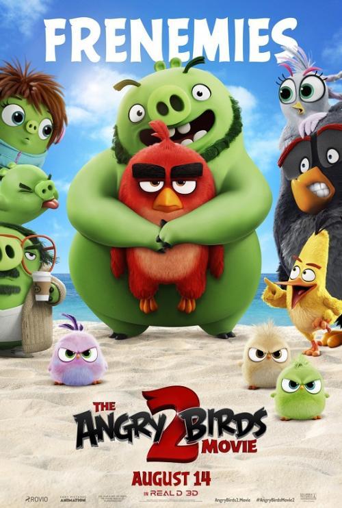 The Angry Birds Movie 2 juga menunjukkan performa baik di box office China dan internasional. (Foto: Columbia Pictures)