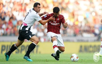 Suso vs Udinese (Foto: Twitter/@acmilan)