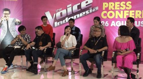 Preskon The Voice Indonesia season 4