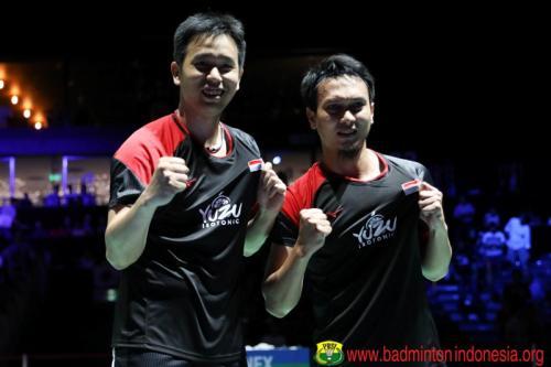 Hendra/Ahsan Raih Gelar juara di Kejuaraan Dunia 2019