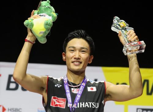 Kento Momota juara dunia 2019