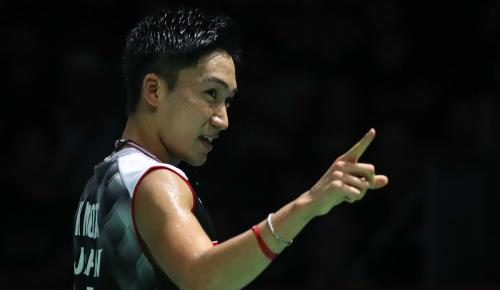 Tommy hadapi Kento di babak kedua China Open 2019