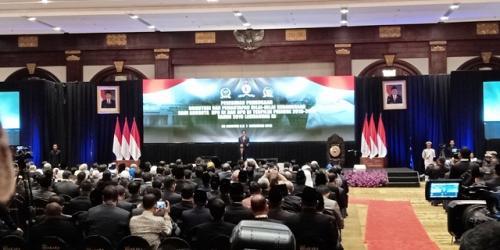 Presiden Jokowi. (Foto: Muhamad Rizky/Okezone)