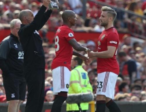 Luke Shaw diganti Ashley Young (Foto: Man United)