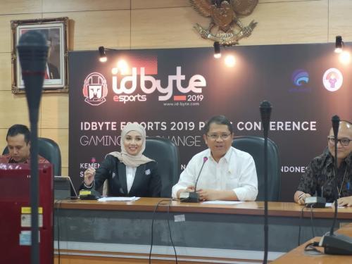 IDBYTE mengusung tema esports, mengingat industri ini tengah berkembang di Indonesia saat ini.
