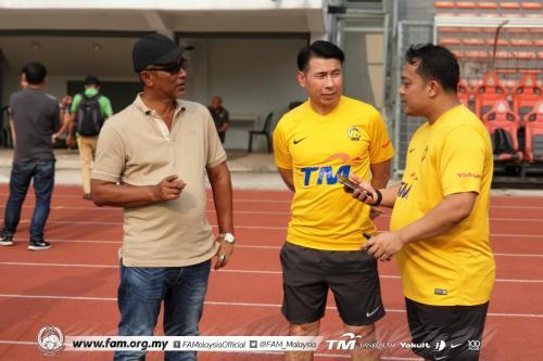 Pelatih Timnas Malaysia, Tan Cheng Hoe