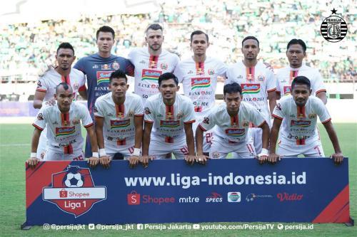 Skuad Persija di pertandingan Liga 1 2019