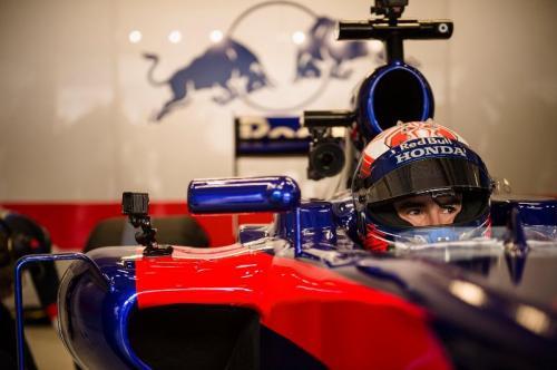 Marc Marquez pernah menjajal mobil F1 bareng Scuderia Toro Rosso (Foto: Situs resmi Scuderia Toro Rosso)