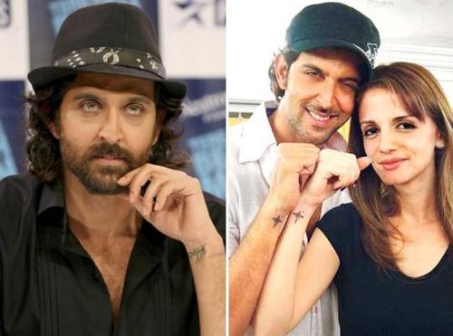 Hrithik Roshan memiliki tato kembaran dengan sang mantan istri, Sussanne Khan. (Foto: Instagram/@hrithikroshan)
