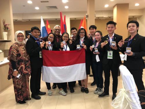 Para peraih medali di ajang internasional ICYSS 2019