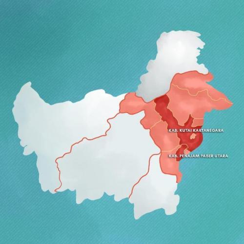 Infografis pemindahan ibu kota baru
