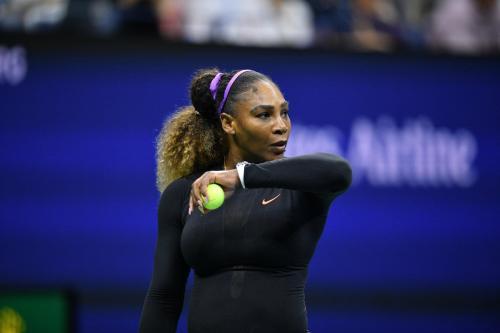 Penampilan Serena Williams