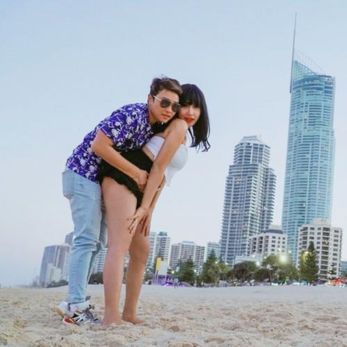 Lucinta Luna memang terbilang rajin mengunggah foto mesranya dengan sang kekasih. (Foto: Instagram/@lucintaluna)