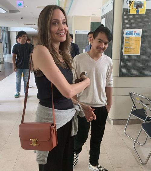 Angelina Jolie dan Maddox