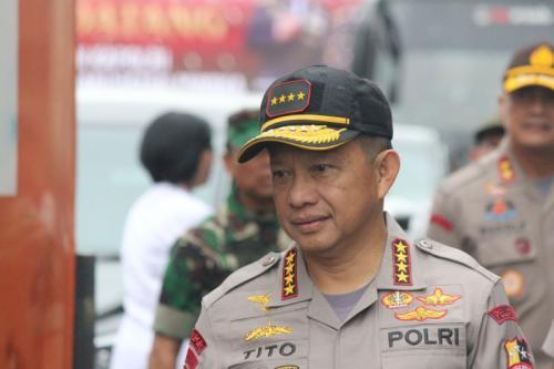 Kapolri Jenderal Tito Karnavian di Papua (foto: Saldi)