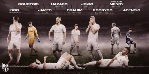 Para pemain Madrid yang cedera jelang hadapi Villarreal