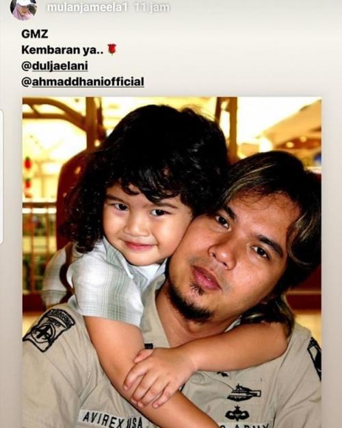 Ahmad Dhani dan Dul Jaelani kecil