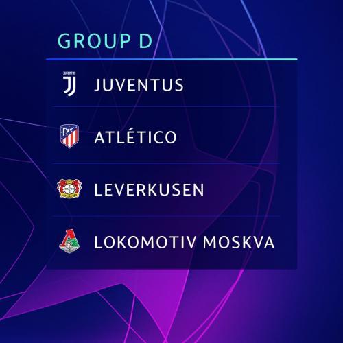 Grup D Liga Champions 2019-2020