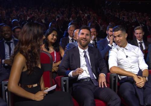 Messi dan Ronaldo di malam pengundian fase grup Liga Champions 2019-2020