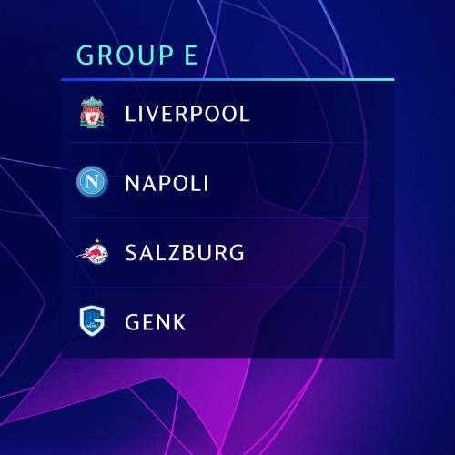 Grup E Liga Champions 2019-2020