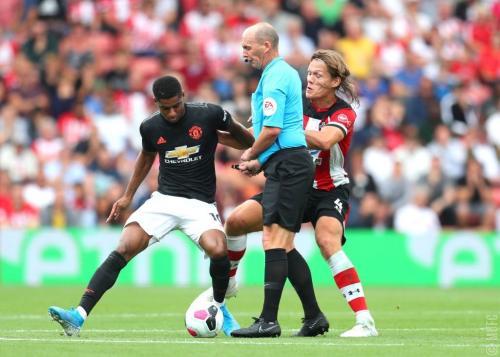 Marcus Rashford vs Southampton (Foto: Premier League)