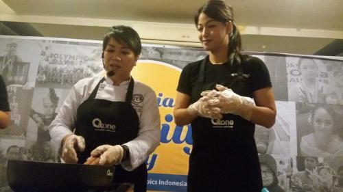 Chef memasak