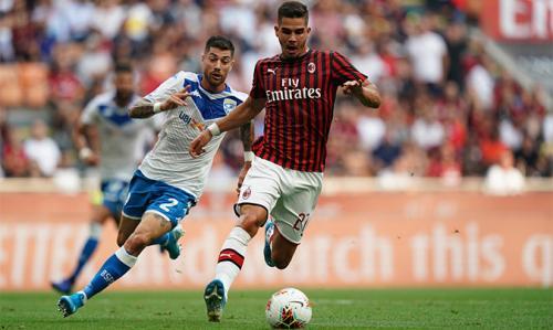 Andre Silva vs Brescia (Foto: AC Milan)