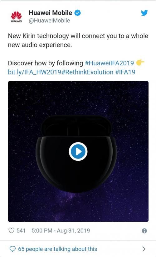 Huawei akan Hadirkan Perangkat Earbud Nirkabel Terbaru