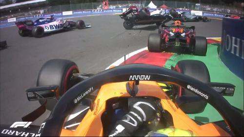 Max Verstappen di F1 GP Belgia 2019 (Foto: Twitter/@F1)