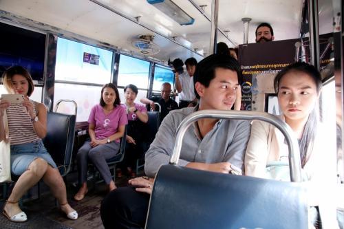 Ilutrasi penumpang bus