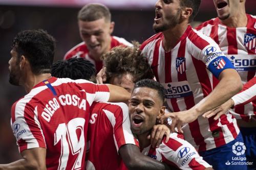 Atletico Madrid menang tipis atas Eibar (Foto: Twitter/Atletico Madrid)
