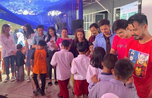 MNC Pictures merilis sinetron Ogah Rugi untuk RCTI. (Foto: Okezone/Wahyu Muntinanto)