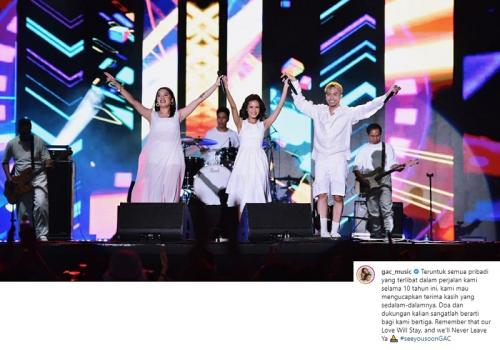 GAC memutuskan vakum dari panggung musik Tanah Air setelah 10 tahun berkarier. (Foto: Okezone/Ady Prawira Riandi)