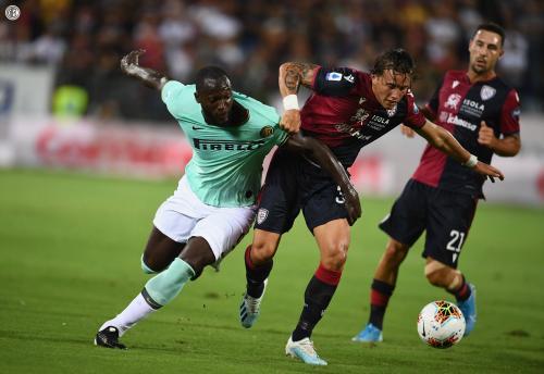Romelu Lukaku jadi sasaran tindakan rasisme (Foto: Twitter/Inter Milan)