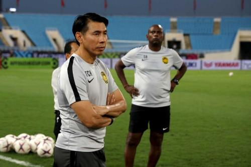 Tan Cheng Hoe yakin pemainnya sudah terbiasa menghadapi lawan berpostur besar (Foto: AFF Suzuki Cup)