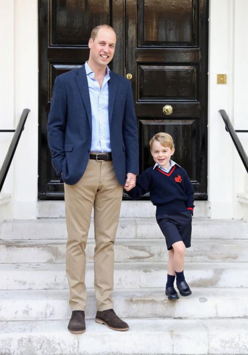 Pangeran George dan ayah
