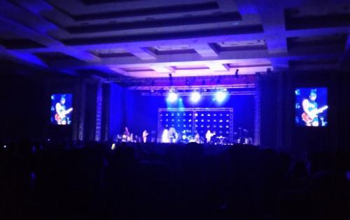 Don Broco buka konser Traumatic Tour Mike Shinoda. (Foto: Okezone/Ady Perwira Riandi)