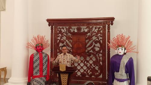 Gubernur DKI Jakarta Anies Rasyid Baswedan. (Foto: Okezone)