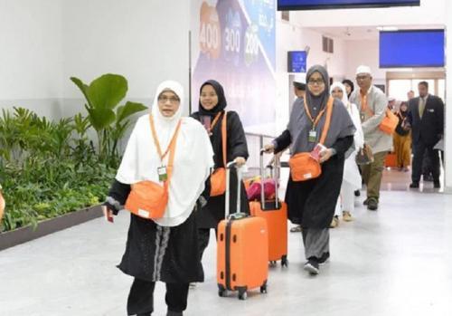 Jamaah umrah tiba di Arab Saudi