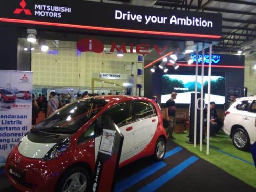 i-Miev mobil listrik Mitsubishi