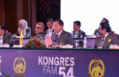 Datuk Hamidin Mohd Amin yakin Timnas Malaysia menang atas Indonesia (Foto: FA Malaysia)