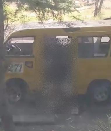 Screenshoot video mesum di angkot