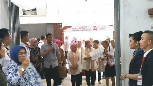 Iriana Jokowi di Jateng