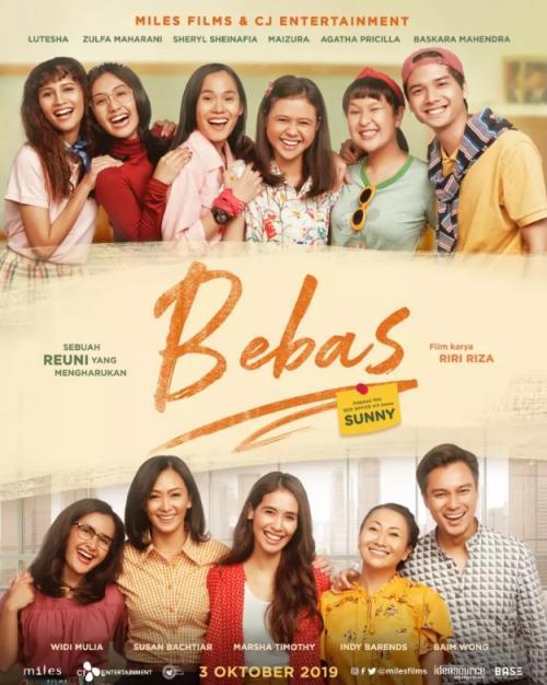 Film Bebas akan tayang perdana pada 3 Oktober 2019.
